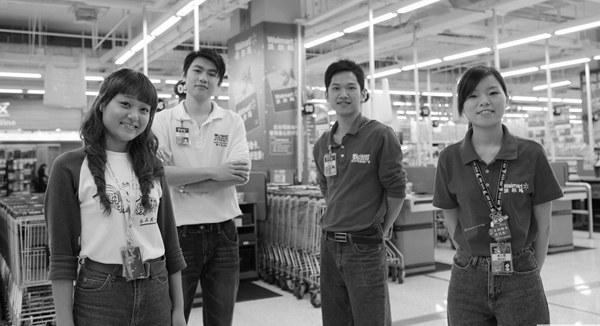 超市管理员工